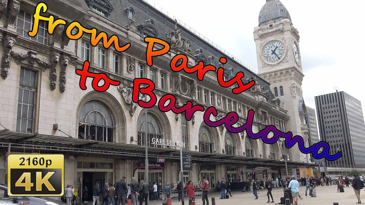 Hola bonjour from paris to barcelona with renfe sncf for Renfe barcelona paris