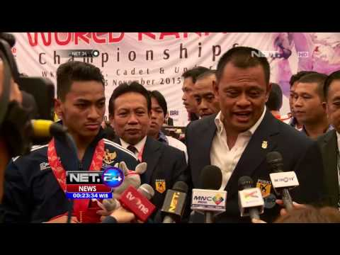 Medali Emas Untuk Indonesia di Kejuaraan Karate - NET24 Mp3