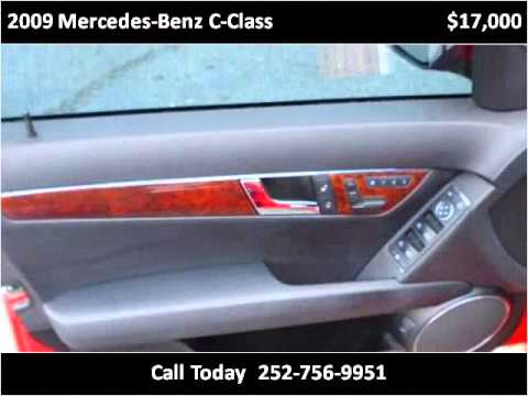 2009 mercedes benz c class used cars greenville nc youtube. Black Bedroom Furniture Sets. Home Design Ideas