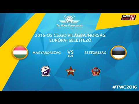 Magyarország vs Észtország - 2016-os CS:GO Világbajnokság - BO3