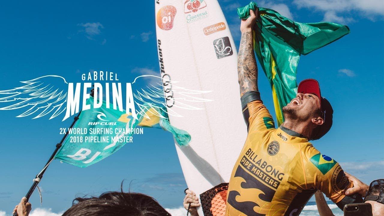 Stab Magazine | Gabriel Medina Bests Julian Wilson In A