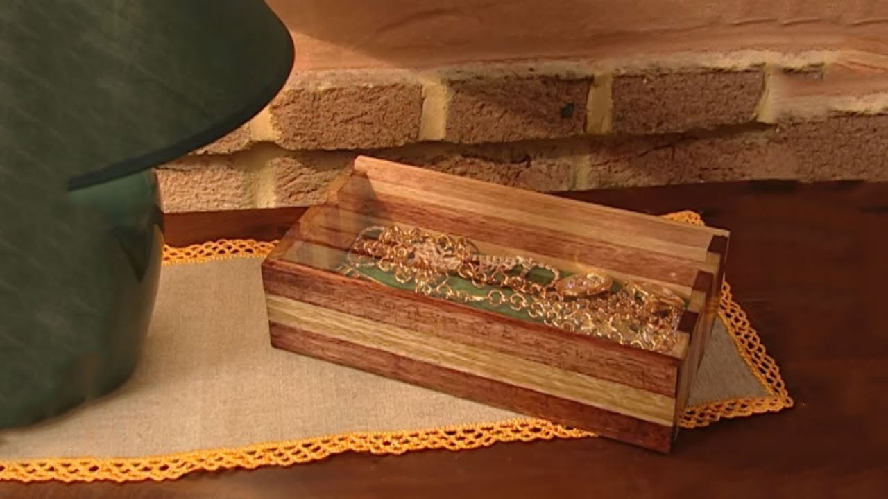 How to build a jewelry box youtube for How to make a ring box out of wood