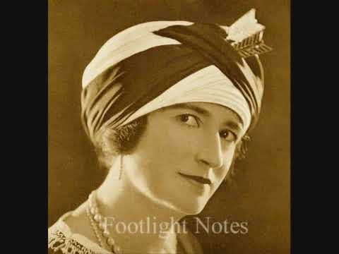 Ethel Levey sings 'MyTango Girl' from Hullo, Tango! London Hippodrome, 23 December 1913