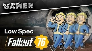 Can you mod Fallout 76 to run on an Integrated GPU? (IntelHD / AMD Athlon APU)