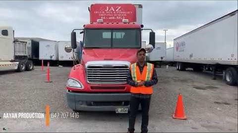 jaz truck driver training melt program schedule 1 pre trip inspection 2019