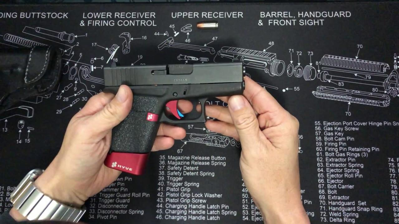 Glock 43 Safariland TLR6 Holster