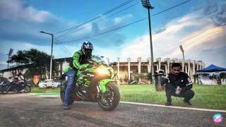 Test Riding Kawasaki ZX10r , Versys 1000, ZX6r | Vlog 112