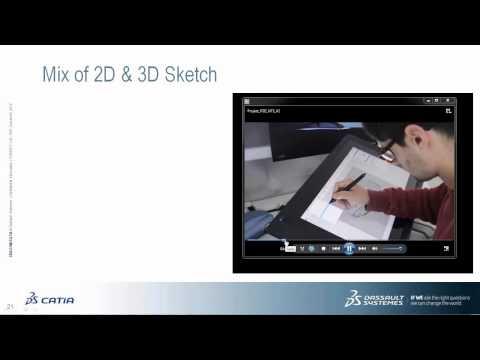 Webinar: Dassault Systèmes' '3D Sketch and Concept Modeling of b l e u'