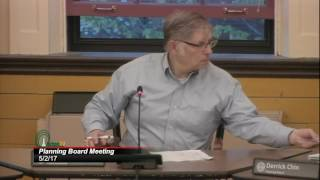 Planning Board Meeting 5/2/17