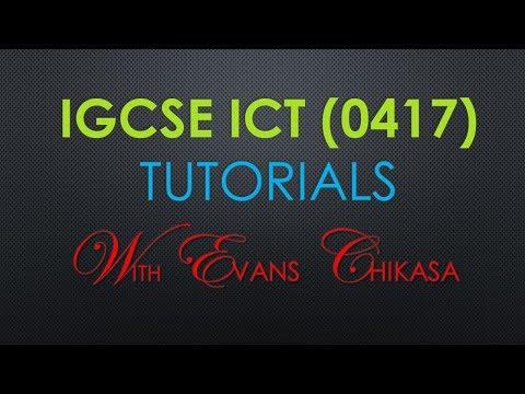 IGCSE ICT October November 2017 paper 3 Web Authoring Microsoft FrontPage