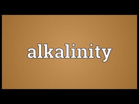 Header of alkalinity