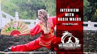 Interview with Basia from Poland - Study Martial Arts in China Mp3