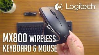 Video Logitech MX800 Wireless Keyboard & Mouse | Unboxing download MP3, MP4, WEBM, AVI, FLV April 2018