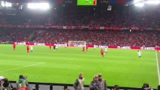 Final Uefa 2016 Liverpool - Sevilla. Gol de Coke (1-2)