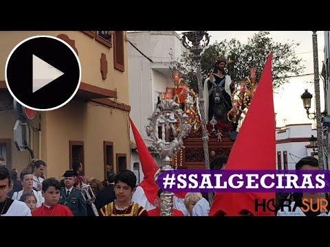 🎥 La Borriquita abre la Semana Santa de Algeciras 2019