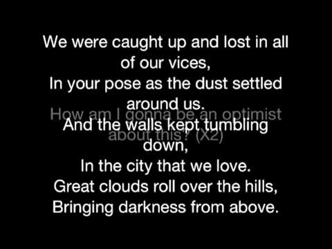 Bastille- Pompeii (lyrics)