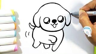 puppy draw easy