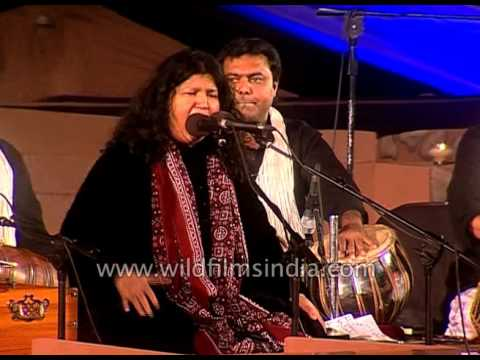 'Mein Sufi Hoon Sarmasta' by famous Sufi singer Abida Parveen