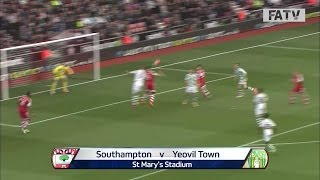 Southampton vs Yeovil Town 2-0, FA Cup Fourth Round 2013-14 highlights