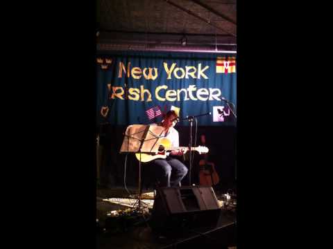 sean henshaw, (just say yes) in irish centre nyc supporting susan mckeown