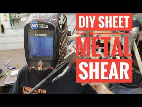 How to Make a Sheet Metal Shear for Cheap