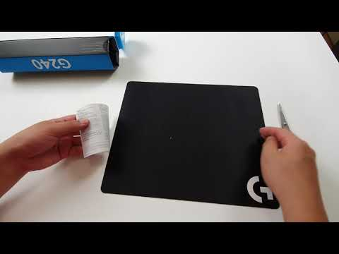 Logitech G240 Gaming Mouse Pad ($10 USD $15 AUD) Unboxing / Review