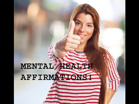 Mental Health: Fighting Depression with Affirmations - Mental Health Recovery