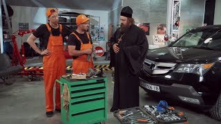 Ремонт автомобиля - приколы на сто | На троих смотреть онлайн, сериалы и комедии семейные Украина