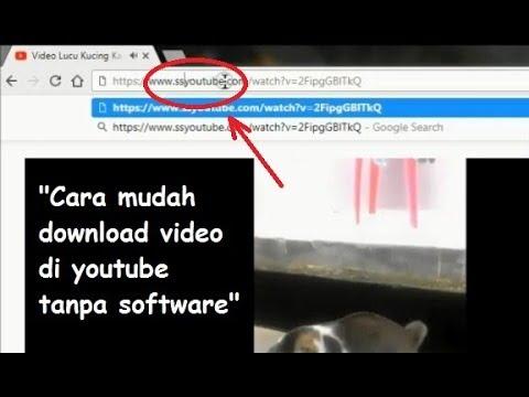 Cara Download Video di Youtube Mudah Tanpa Software