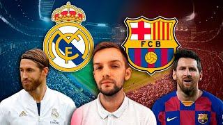 Решающее Эль Класико Реал Мадрид Барселона Стрим перед матчем