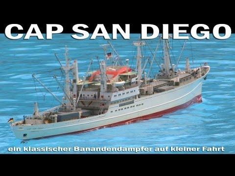 Cap San Diego - Ein Klassischer Schnelldampfer - Modellbau LIVE 2013