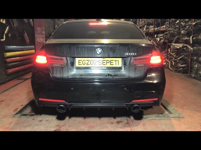 BMW F30 3.18 KUMANDALI VAREX EGZOZ SESİ