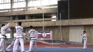 Taekwondo ITF vs Taekwondo WTF demo teams 2015