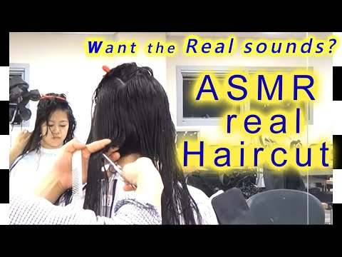 Bob haircuts ASMR( over 1 hour)