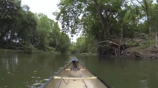 Saline River above Lyle Park in Benton, AR