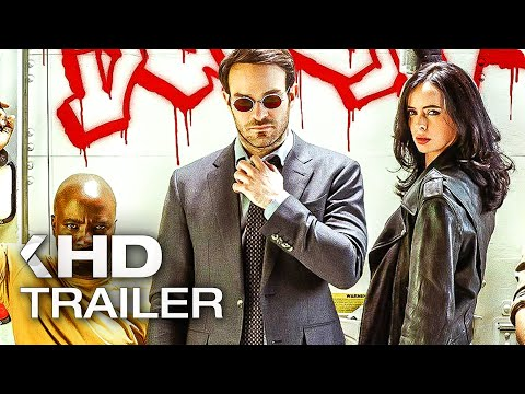Marvel's The Defenders ALL Trailer & Clips (2017) Netflix
