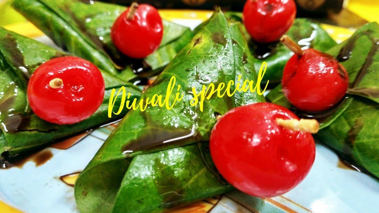 Chocolatey Paan Diwali 2017 Special Chocolate Paan