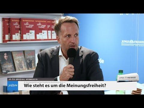 Wie steht es um die Meinungsfreiheit? (Prof. Dr. Ralf Höcker auf der #FBM2019)