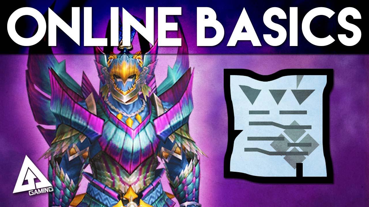 Monster Hunter 4 Ultimate Tutorial Online Basics Hunter Rank Key