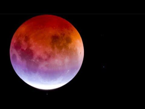 Blood Moon and Mars 27.7.2018: Longest Total Lunar Eclipse of Century! Zatmění měsíce 2018 ŽIVĚ!