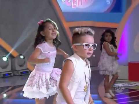 "MC BENI canta Sonhar ""MC GUI"" (Parte2) - Programa Raul Gil SBT 27/12/2014"