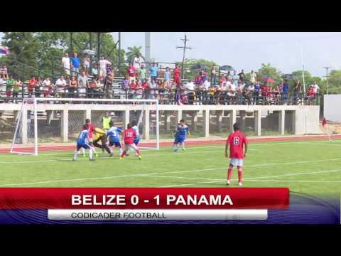 CODICADER 2016 FOOTBALL BELIZE VS PANAMA BOYS