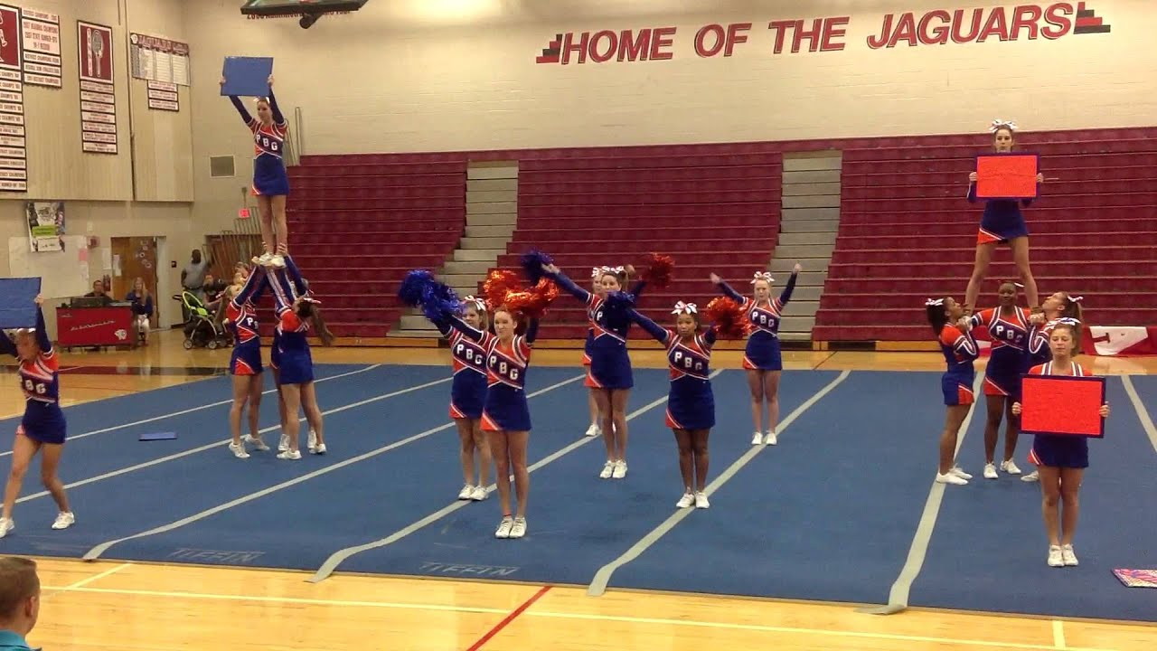 Palm Beach Gardens High School Competitive Cheerleaders 2012 Youtube