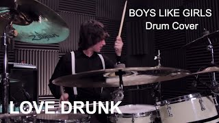 Ricky - BOYS LIKE GIRLS - Love Drunk (Drum Cover)