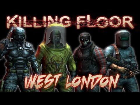Killing Floor Co-Op Gameplay on West London Part 1 (Live Commentary/Gameplay)