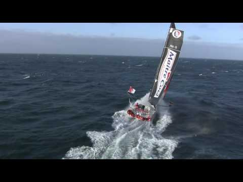 """World on Water Vendee Globe Report Dec 27 16 Day 50 Xmas at the Horn .. """"There it goes!"""""""