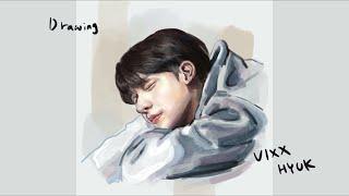 빅스 한상혁 그리기 Drawing VIXX Hyuk
