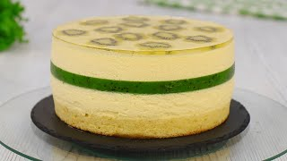 Муссовый Торт с Киви Нереально вкусный Десерт с нежнейшим муссом Пломбир Марьяна Рецепты