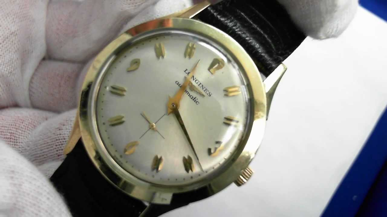 watches watch inventory caliber for vintage with time men s jewel arabic yellow dial store filled applied silver movement features a gold and second around sale numerals this hamilton