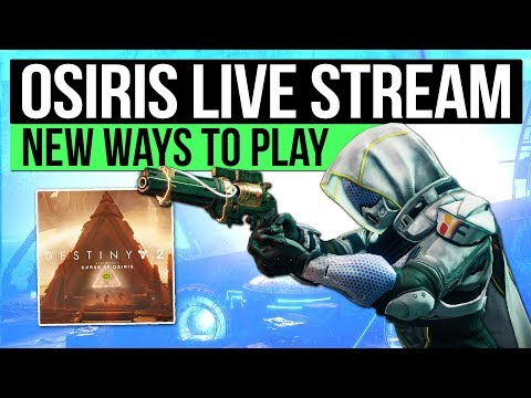 Destiny 2 | Curse of Osiris Full Second Reveal Stream: New Ways to Play! (21st November)